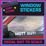MOTT OUT KEITH LEMON CAR WINDOW VINYL STICKER DECAL LAPTOP GRAPHICS NOVELTY GIFT